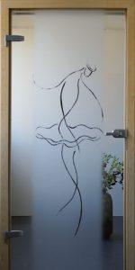 Tür-Ballerina