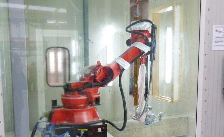 Herba Fertigung Roboter