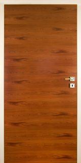 Türblatt-MIX-A-Zwetschke-natur,-Türfutter-in-Profi-Colour-RAL-9003-lackiert