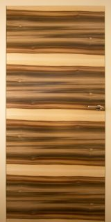 Türblatt-Tulpenbaum-MIX-A-natur-lackiert,-Türfutter-RAL-1013-lackiert